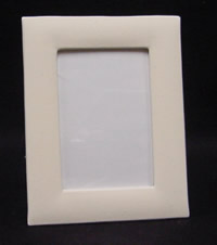 Canvas Covered Photo Frame