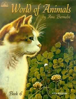 Front Cover to wold of Animals by ana Bernabe