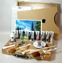 Bob Ross Duluxe Paint Set
