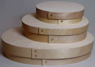 Bentwood Super Slim Oval Boxes