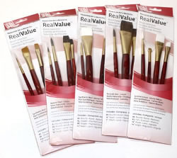 Princeton RealValue Brush Sets of 4