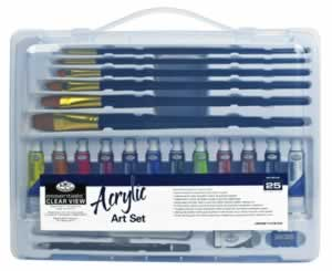 Acrylic Medium Clear View Art Set