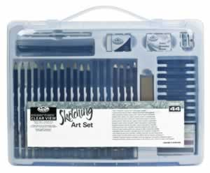 44 Piece Sketching Medium Art Set