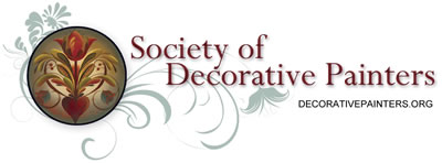 Society of Decorative Painters Logo - Save an extra 10% off your entire Hofcraft order with your membership number!