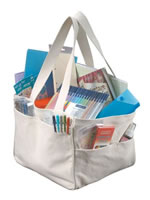 Alvin Fabric Craft Tote Bag