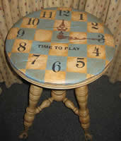 Americana Chalky Finish Time To Play Table