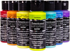 Americana Multi Surface Satin Paint