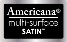 Americana Multi-Surface Satin Paint