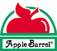 Plaid Apple Barrel Logo