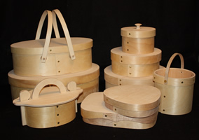 Bentwood Shaker Band Boxes
