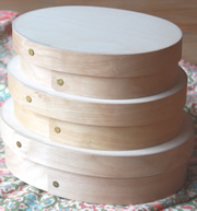 Bentwood Oval Boxes