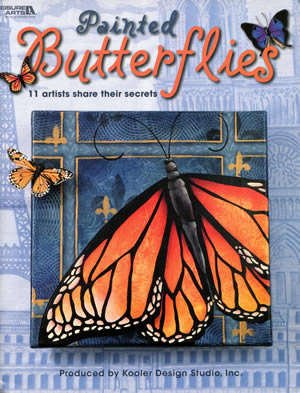 Painted Butterflies front cover