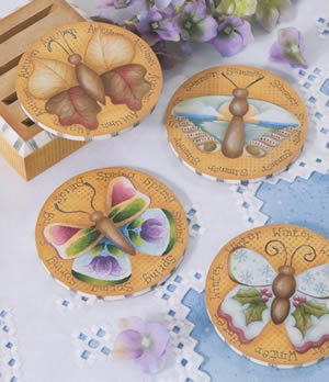 Painted Butterflies - Butterfly Seasons