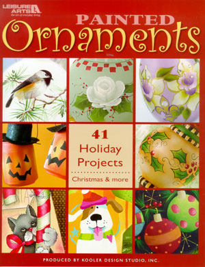 Painting Christmas Ornaments Decorative Painting Book