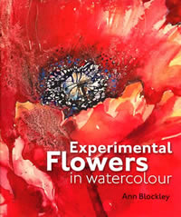 Experimental Flowers in Watercolor front cover