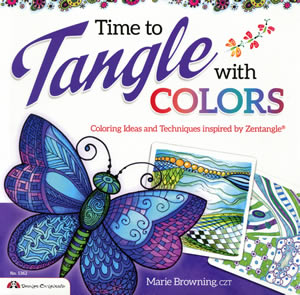 Time to Tangle with Colors front cover