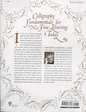 Calligraphy Studio back cover