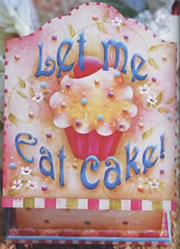 Let Me Eat Cake by Kim Christmas