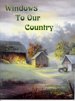 Windows To Our Country Volume 18 Landscape Oil Painting