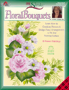 Flower Arranging Supplies on Donna Dewberry One Stroke Painting At Discount Prices