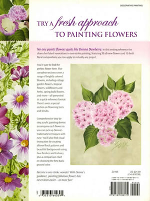 Painting Fabulous Flowers with Donna Dewberry back cover