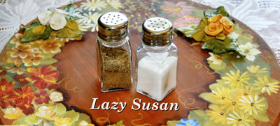 Lazy Susan project - Home Decor with Clay