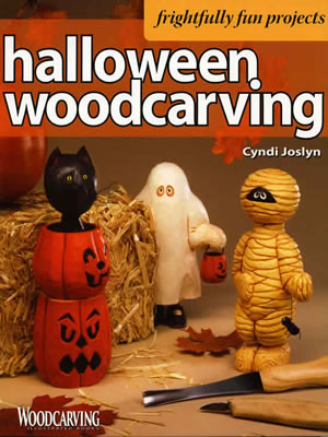 Halloween Woodcarving by Cyndi Joslyn Front Cover
