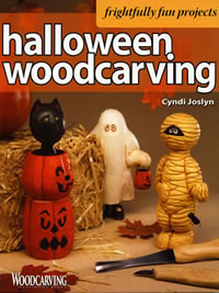 Halloween Woodcarving