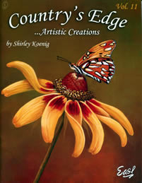 Country's Edge Artistic Creations Volume 11 by Shirley Koenig