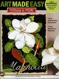 Florals and More, Art Made Easy front cover