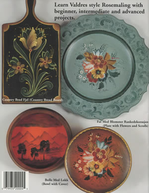 Lessons in Rosemaling Valdres back cover