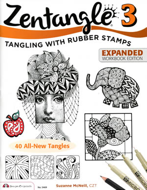 Zentangle 3: Tangling with Rubber Stamps