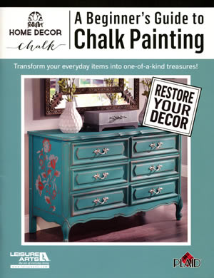A Beginner's Guide to Chalk Painting front cover