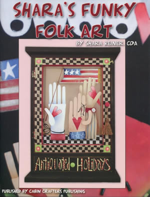 Shara's Funky Folk Art front cover