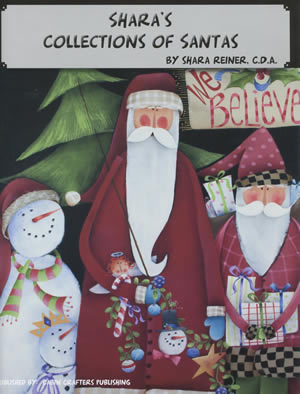 Shara's Collections of Santas front cover