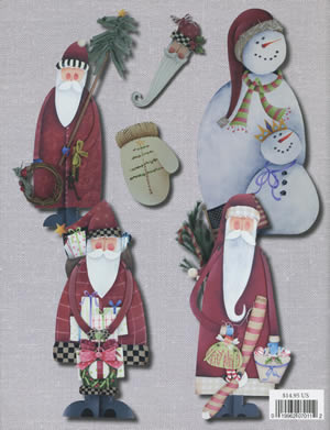 Shara's Collections of Santas back cover