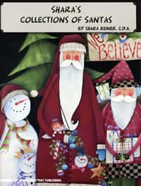 Shara's Collection of Santas