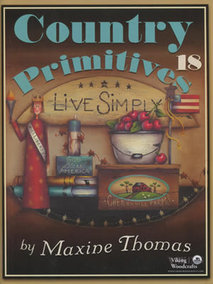 Country Primtives Volume 18 front cover