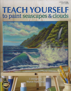 Teach Yourself to Paint Seascapes and Clouds Book Front Cover