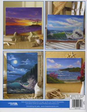 Teach Yourself to Paint Seascapes and Clouds Book Back Cover
