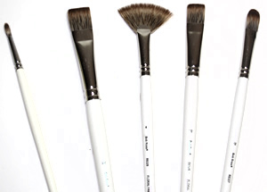 Bob Ross Floral Painting Brushes