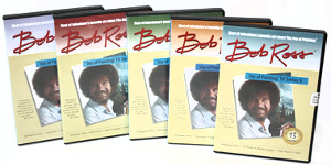 Bob Ross Joy of Painting Series DVD's