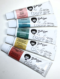 Bob Ross Soft Oils for Floral and Wildlife Painting