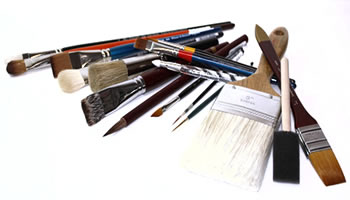 Decorative Artists Paint Brushes