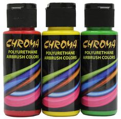Chroma Airbrush Colors, 2 oz. bottles