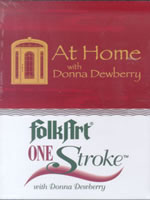 At Home with Donna Dewberry One Hour Instructional Lesson DVD