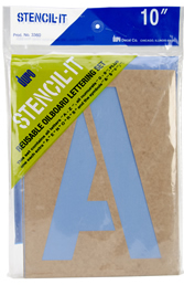 "10"" Stencil-It Lettering Package, DuroArt"