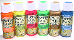 2014 DecoArt Patio Paint New Colors