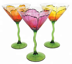 DecoArt Gloss Enamels Martini Glasses