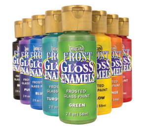 Americana Frost Gloss Enamel Paints